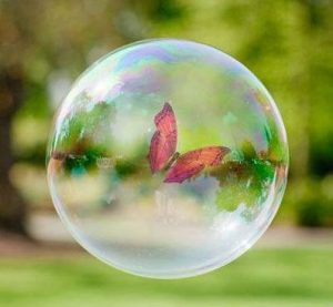 حباب آرزوهایم را به بال پروانه سپردم ...