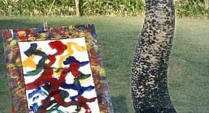 فیلهایی که نقاشی میکشند!